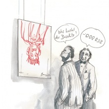 Cartoon_Kunst_Baselitz