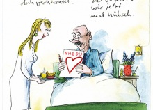 Peter Gaymanns Demensch kalender 2013  Januar_Aber_Herr_Meier_Sie_sind_doch_verheiratet