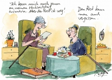Peter Gaymanns Demensch kalender 2014  August_Ich_kann_mich_noch_genau_an_meinen_Hochzeitstag_erinnern