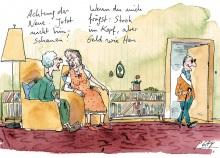 Peter Gaymanns Demensch kalender 2014  Juni_Achtung_der_Neue