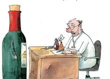 Peter Gaymanns Demensch kalender 2014  September_Herr_Doktor_ich_glaub_ich_hab_Kork