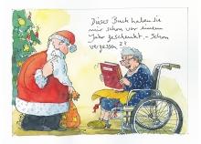 Peter Gaymanns Demensch kalender 2015  Dezember_Dieses_Buch_haben_sie_mir_schon_vor_einem_Jahr_geschenkt