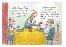 Peter Gaymanns Demensch kalender 2015  November_Aber_liebe_Frau_Mertens_warum_essen_sie_denn_ihre_Serviette