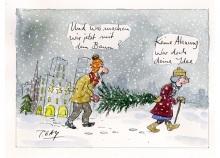 Peter Gaymanns Demensch kalender 2016  Dezember_Und_was_machen_wir_jetzt_mit_dem_Baum