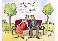 Peter Gaymanns Demensch kalender 2016  März_Gehen_wir_jetzt_in_dein_Heim_oder_in_mein_Heim