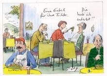 Peter Gaymanns Demensch kalender 2016  November_Eine_Gabel_für_ihre_Tochter