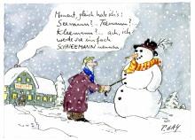 Peter Gaymann demensch Kalender  2018 Januar_Moment_gleich_hab_ichs