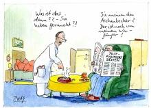 Peter Gaymann demensch Kalender  2018 Mai_Was_ist_das_denn