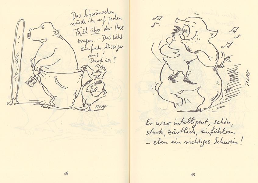 peter-gaymann-Von_Hühnern_und_Menschen_Doppelseite2
