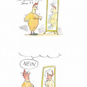 Peter-Gaymann_Bikinifigur_Strand