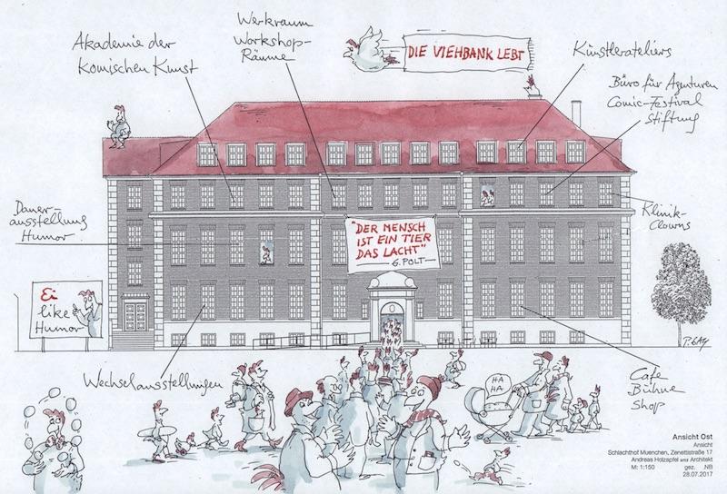 Humor Haus, Forum Humor, Viehbank, Peter Gaymann